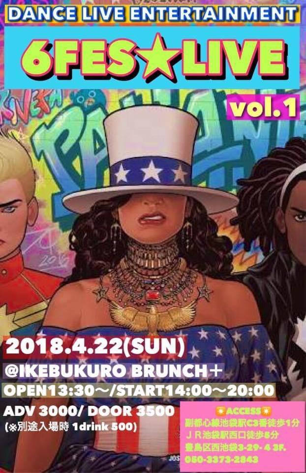 6FES★LIVE Vol,1